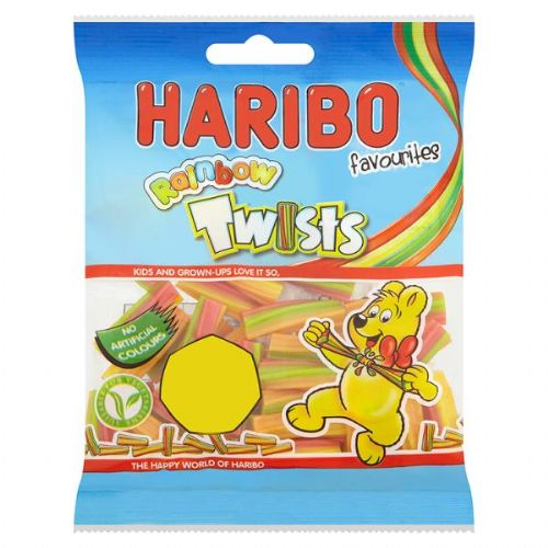 HARIBO Favourites Rainbow Twists 70g (UK)
